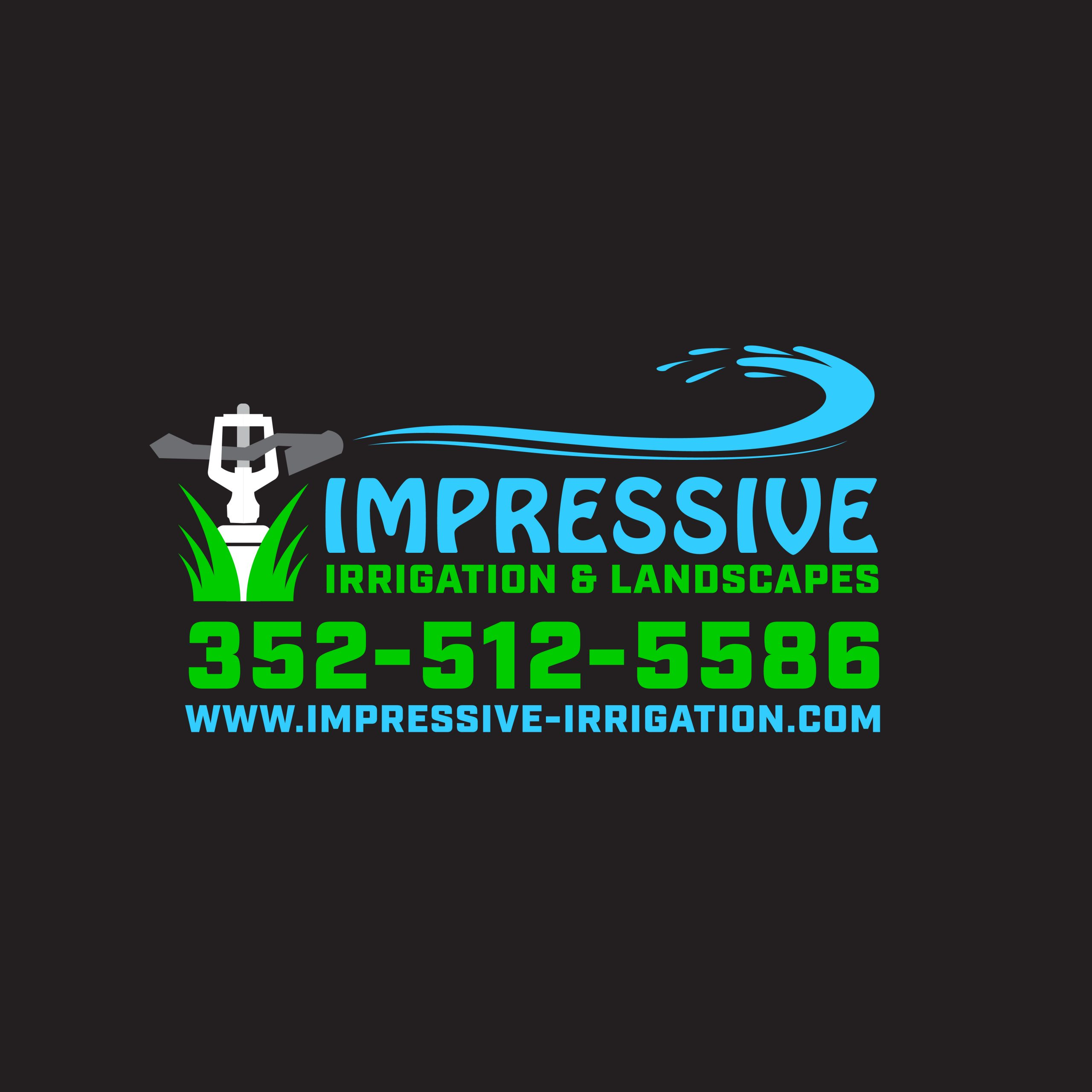 Landscaping And Irrigation Company Logo