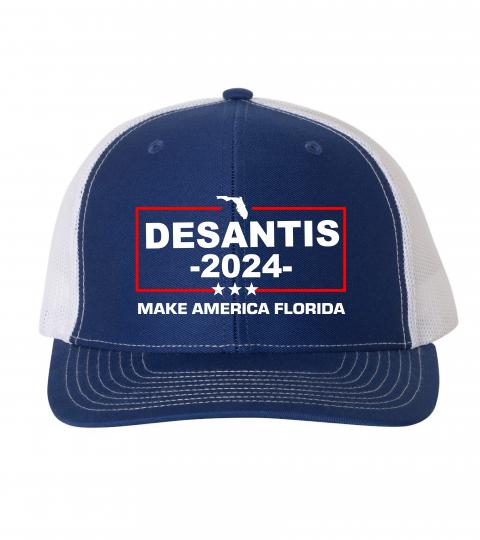 "Florida Governor Ron DeSantis ""Make America Florida"" 2024 Hat"